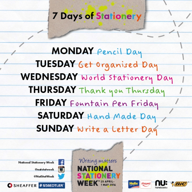 NSW 7 Days of Sationery - 1