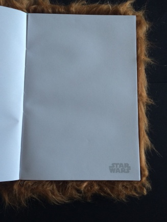 Chewbacca notebook paper small