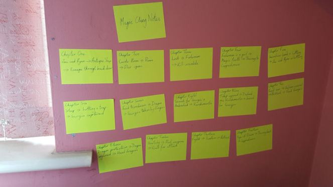 magic notes example