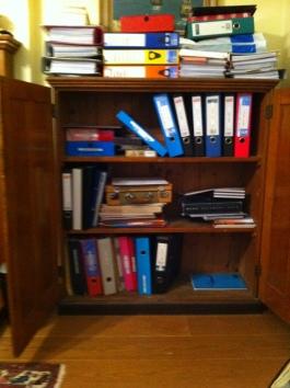 Jo Franklin 2nd stationery cupboard