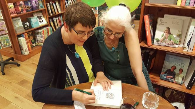 Jo book signing